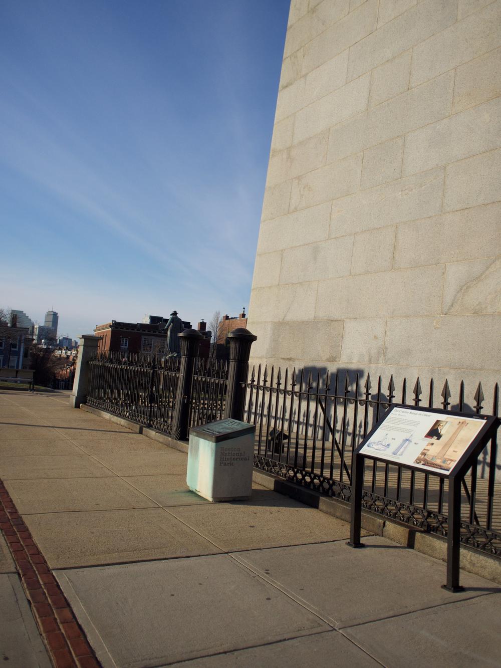 IRL Monument and Col. Prescott Statue